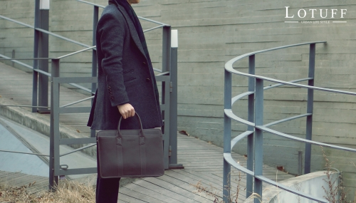 Formal Leather Briefcase