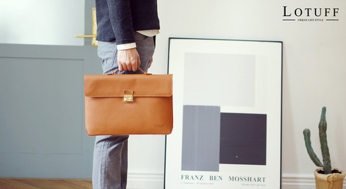 One Buckle Briefcase