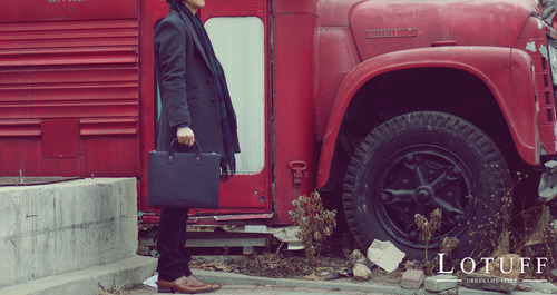 Leather Briefcase LO-0920