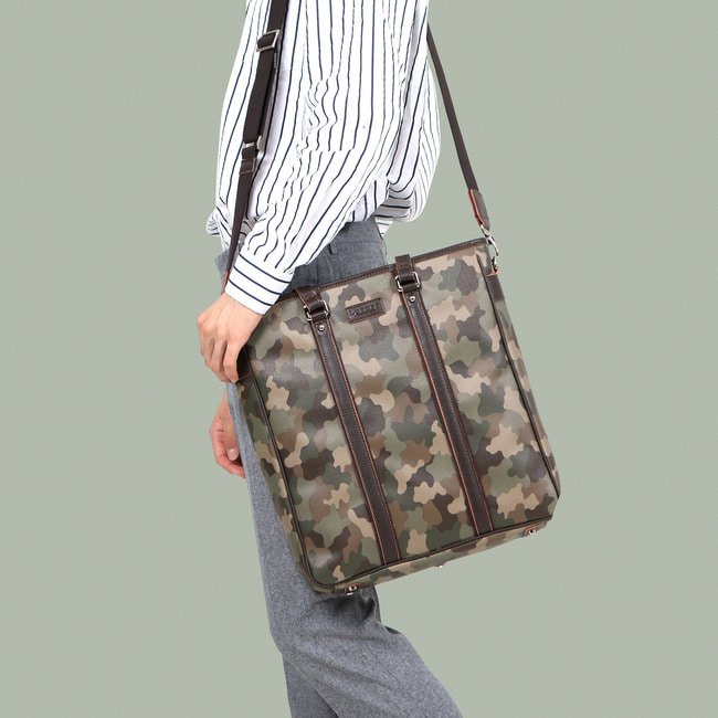 TOTE, CROSS. 2WAT BAG _ CAMOUFLAGE
