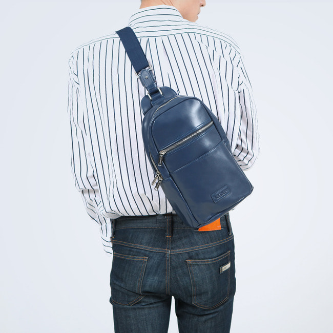 GENUINE LETHER CASUAL SLING CROSS BAG