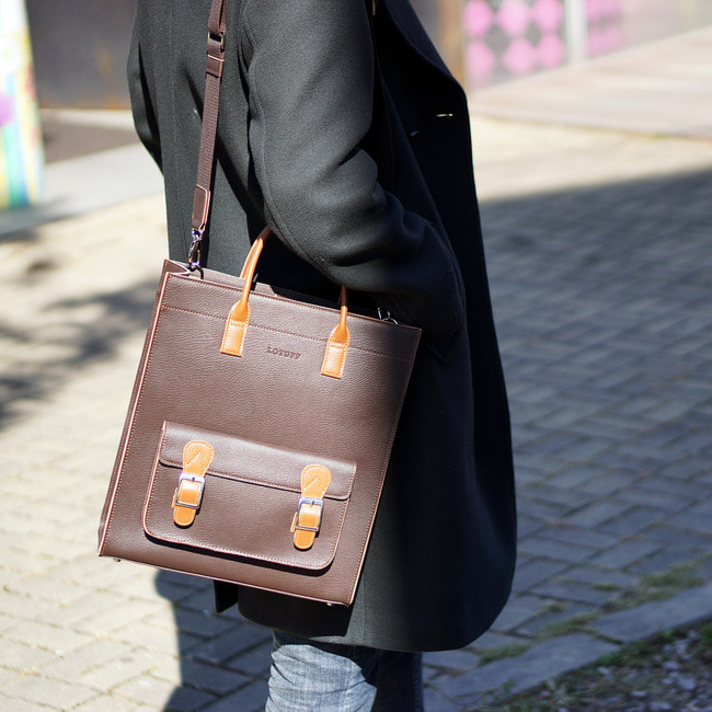 Formal Leather Tote & Satchel