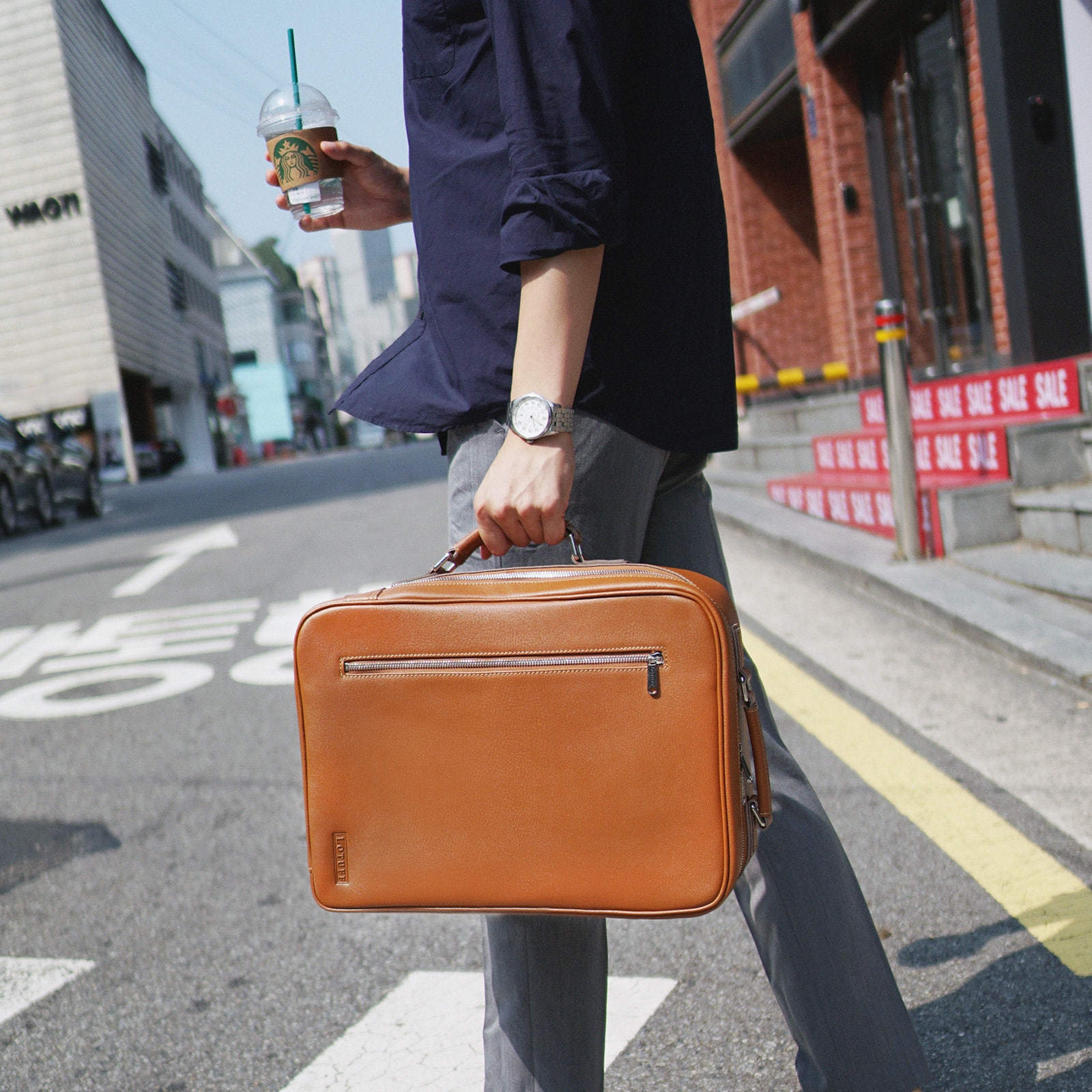 Briefcase, Backpack _ 5 Colors